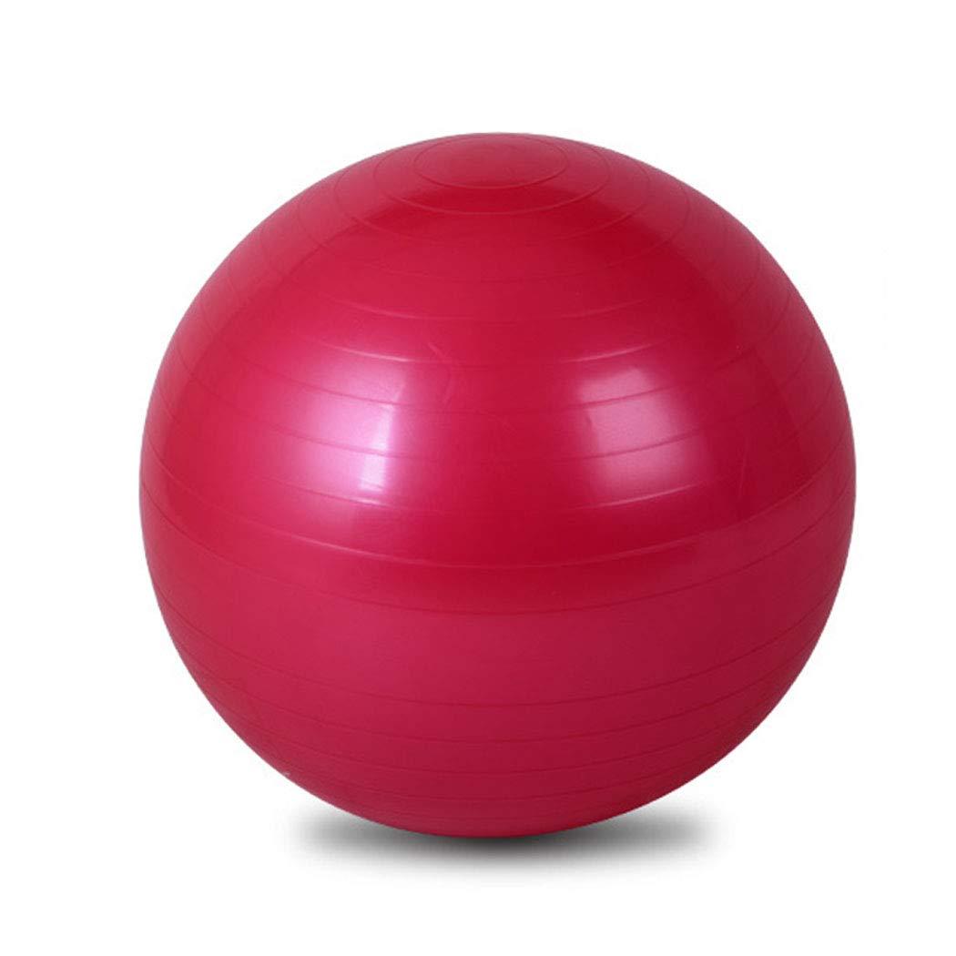 HUIFEI Rayas A Prueba De Explosiones Yoga Ball 75 Cm Fitness Mujer Engrosamiento Deportes Mujeres Embarazadas Entretenimiento Niños Equilibrio Yoga PVC Puede ejercitar Mejor