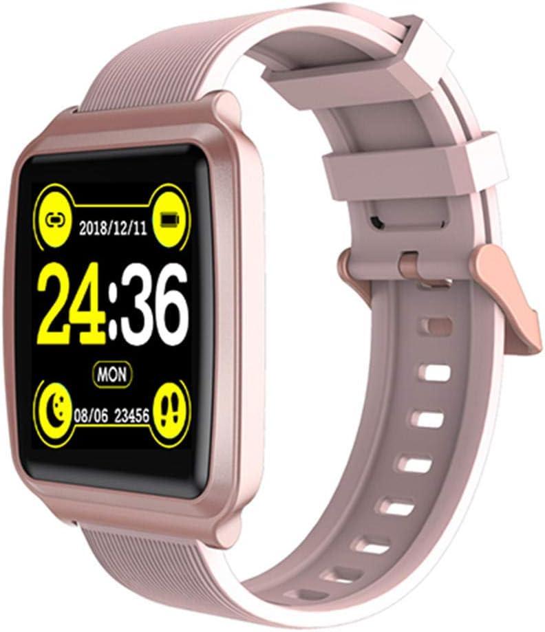 NUNGBE Relojes Inteligentes, Pulseras de Fitness, podómetros, Cinturones de Ejercicio de calorías, monitores de frecuencia cardíaca, presión, Relojes de medición, Pulseras para Hombres y Mujeres.