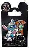 Disney Pin - Doctors' Day 2017 - Stitch and Scrump