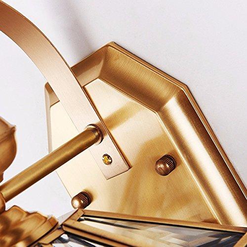 Anbiratlesn Modern E27 Vintage Rustikal Wandlampe für für für Schlafzimmer Wohnzimmer Korridor Badezimmer Küche Gehweg Balkon Licht wasserdicht Licht Kupfer 245b32