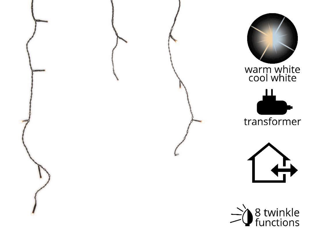 Stalattite luminosa 7, 50 m Bicolore 175 LED KAEMINGK