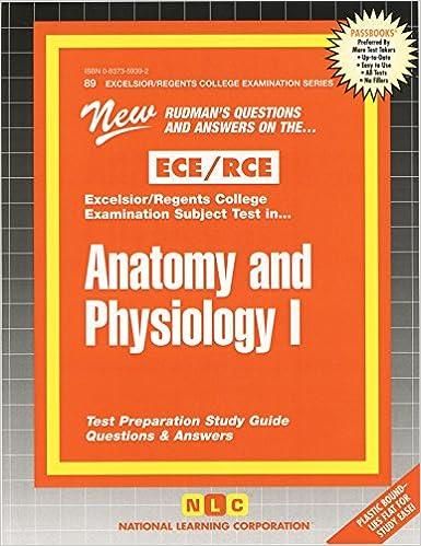 RCE Anatomy and Physiology I (Passbooks)
