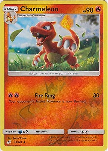 Pokemon Card XY Evolutions 10//108 Charmeleon  Reverse Holo Uncommon