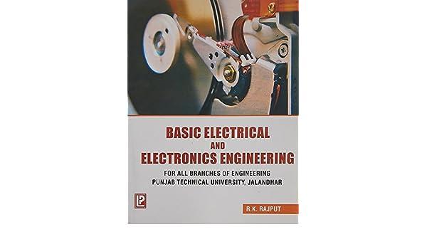 Basic electrical and electronics engineering r k rajput basic electrical and electronics engineering r k rajput 9788170081210 amazon books fandeluxe Choice Image