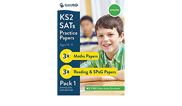 NEW 2016 KS2 SATs Practice Papers (English Reading, SPaG ...