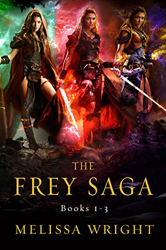 The Frey Saga: Books 1-3 cover