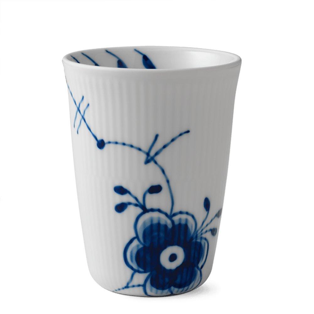 Blue Fluted Mega 13 oz. Thermal Mug