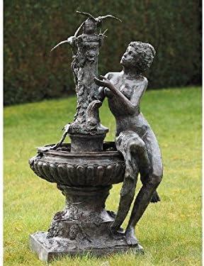 Thermobrass - Escultura de bronce para jardín: Amazon.es: Jardín