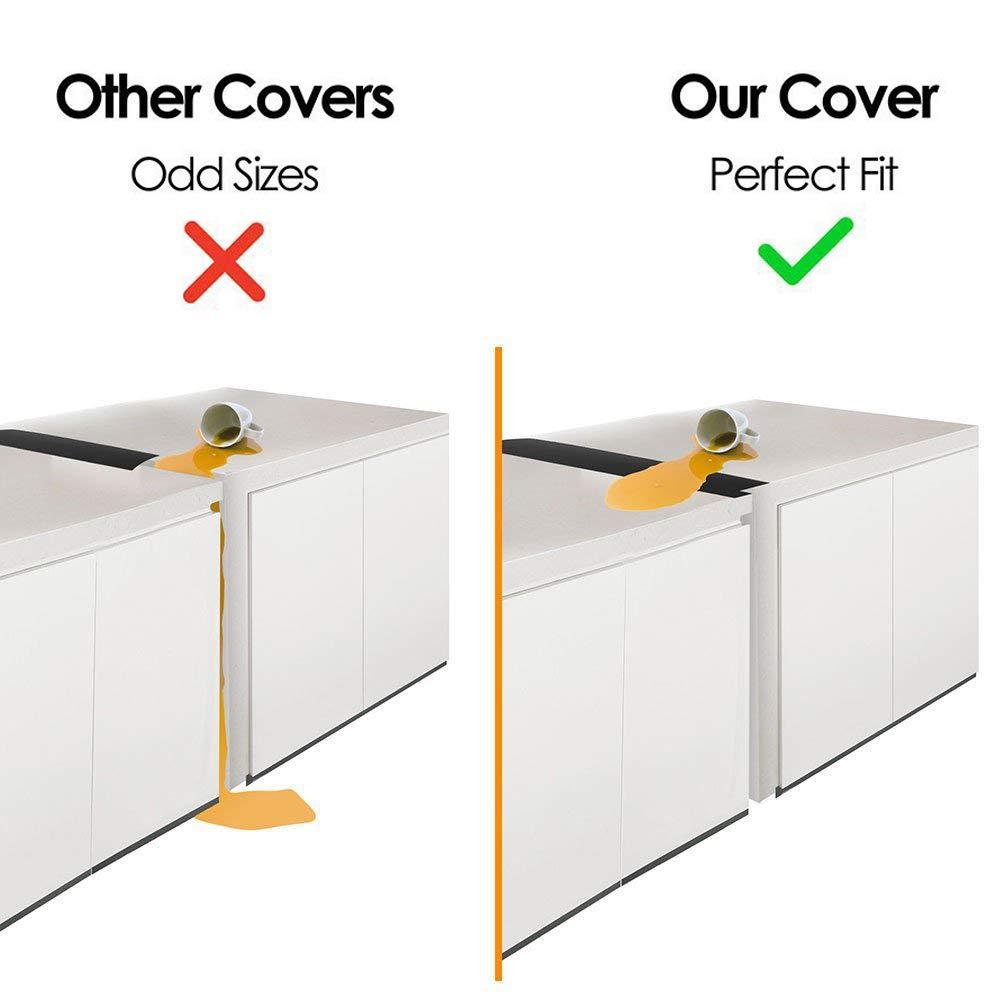 KEZIO 2 unidades de cobertor de silicona estándar para horno ...