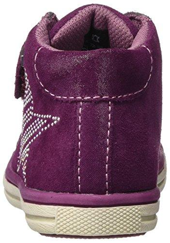 Violet tex Shanty Hautes Baskets Charcoal Lurchi dk Fille pink Y6RW5v