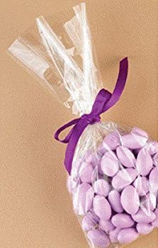 """100 / Cello Bag, Candy Treat Bags 5x10"""" (1.2mil) Gift Packaging"""