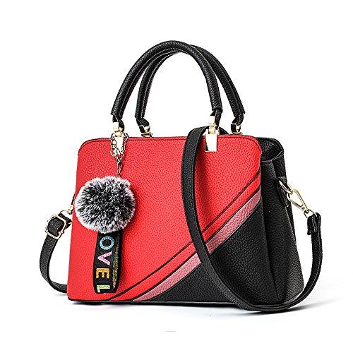 _ Guangming77 Big Bag Handbag And Xiekua Bag Package, Green Road Green Road Black Bag Red Wine Bag