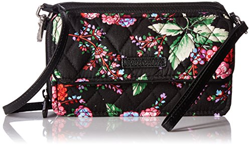 Vera Bradley Rfid All in One Crossbody-Signature, Winter Berry