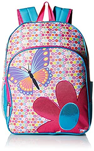 Pink Platinum Girls' Butterfly 16 inch Backpack, Pink (Backpack With Butterflies)