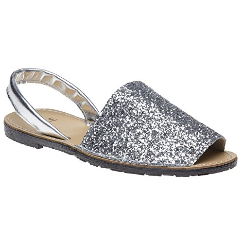 Sole Toucan Donna Sandalo Metallico
