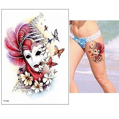 Brazo Grande Tatuaje Manga Flash Tatuaje Temporal Pegatina ...