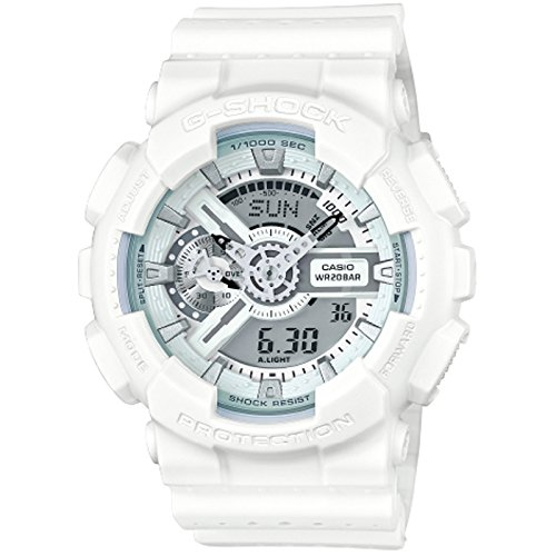 G Shock GA 110LP Military Perf White