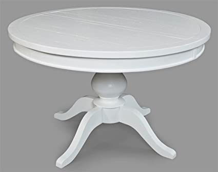 Jofran: 647-66TBKT, Madaket, Round to Oval Pedestal Dining Table, 48\