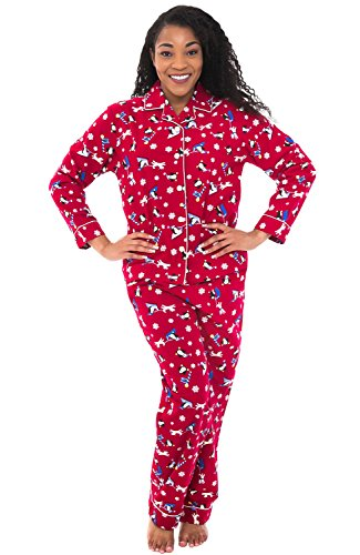 Womens Flannel Pajamas