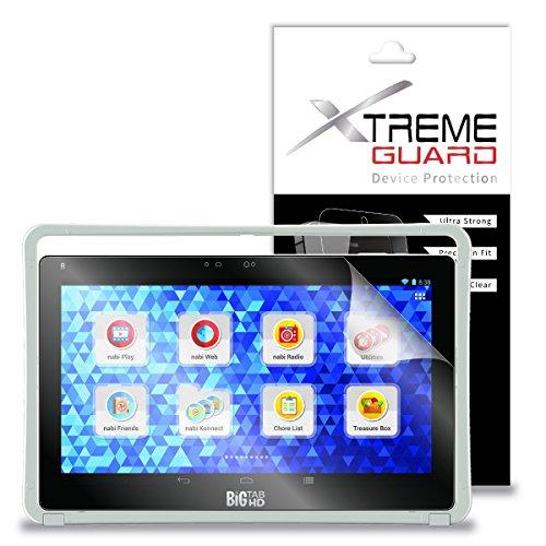 "XtremeGuardâ""¢ Screen Protector for Fuhu Nabi Big Tab 20"" Tablet (Ultra Clear)"