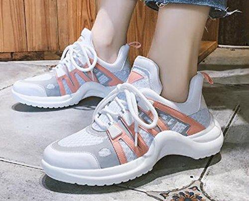 de Zapatillas Running naranja LFEU Mujer HPZna