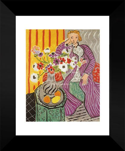 Henri Matisse Framed Art Print 18x15