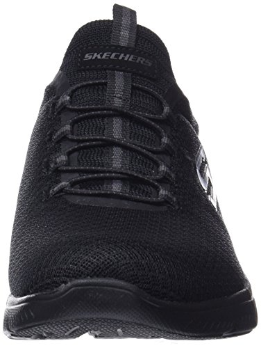 Skechers Donna Summits Black Nero Sneaker 4xqWR7rUw4