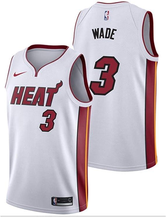 TL LT Jersey De Baloncesto De La NBA # 3 / Wade 2019 / Camisetas ...