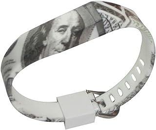 Buttermr Fitbit Flex Ersatz Armband Handgelenk Band Armband Sport Arm Band Armband mit Metallklammern für Fitbit FLEX Nur / No tracker