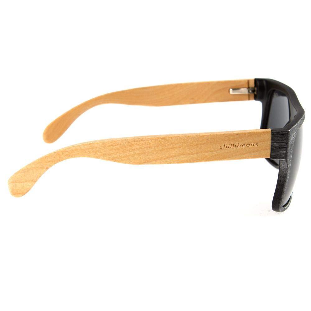 b739a94950718 Óculos de Sol Masculino Chilli Beans Haste de Bambu Preto Polarizado 1747  OC.CL.1747.0101 G  Amazon.com.br  Cozinha