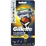 Gillette Fusion5 ProGlide Power Men's Razor, Handle & 1 Blade Refill