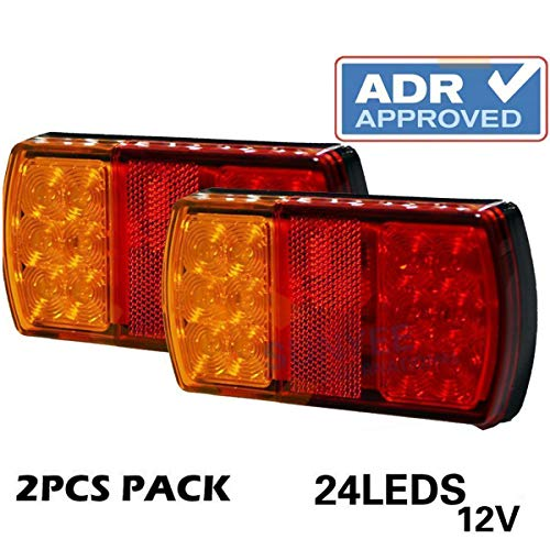 Led Tail Light Dimensions in US - 7