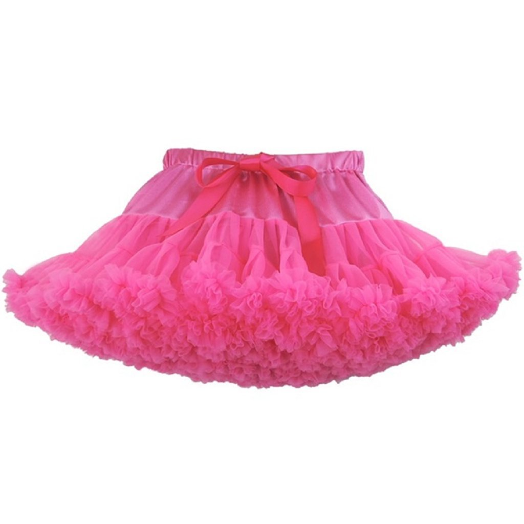 Baby Mädchen Tutu Tüllrock Kleinkind Tütü Rock Petticoat Ballettrock (Dunkelblau) Vine Trading Co. Ltd D170221PPQ00153V