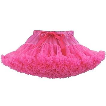 6b98922bf1 Amazon.com: Girls' Tutu Skirt Fluffy Tulle Pleated Pettiskirts ...