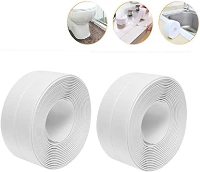 Gap Sticker Sink Stove PVC Adhesive Kitchen Corner Waterproof Sealant Tape