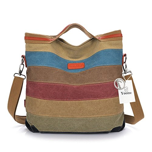 Colorful One Mujer Colorful Colorful Hombro Yoohobo0028 Size Bolso Beige al Yoome para Y8zgq
