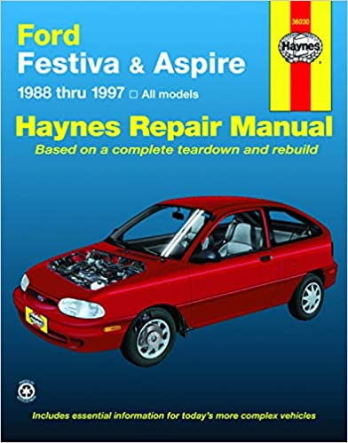 ford festiva and aspire, 1988-1997 (haynes manuals) 1st edition