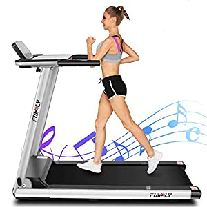 Well-Being-Matters 51e2a1F%2BPXL._SS300_ FUNMILY Treadmill, 2.25HP Folding Electric Treadmills with Large Desk and Heavy Duty Steel Frame, 12 preset Programs…