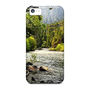 EaZ29255dmHh Phone Cases With Fashionable Look For Iphone 5c - Forest River