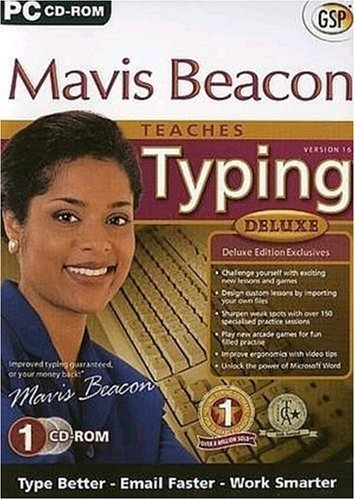 Mavis Beacon Teaches Typing 16 Deluxe (PC) (UK IMPORT)