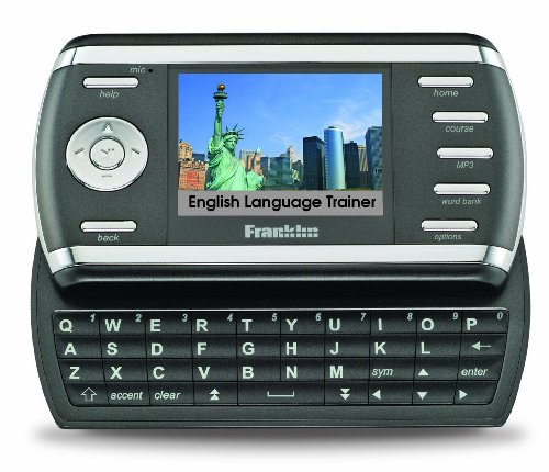 Franklin English Language Trainer MG-6804D: Lernen-Trainieren-Sprechen-immer und überall, Sprachausgabe, inkl. OALD, 'Farb-Display, TV-Out, MP3-Player