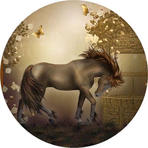 Tortenaufleger Pferde 04 mit Glitzereffekt