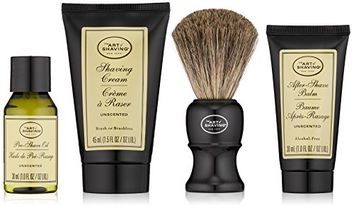 The Art Of Shaving Mid-Size Kit, Unscented (The Art Of Shaving Cream Unscented)