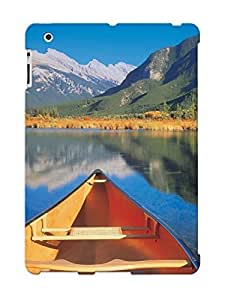 Boat High-quality Durable Protection Lake Case For Ipad 2/3/4(peaceful Travels) For New Year's Day's Gift
