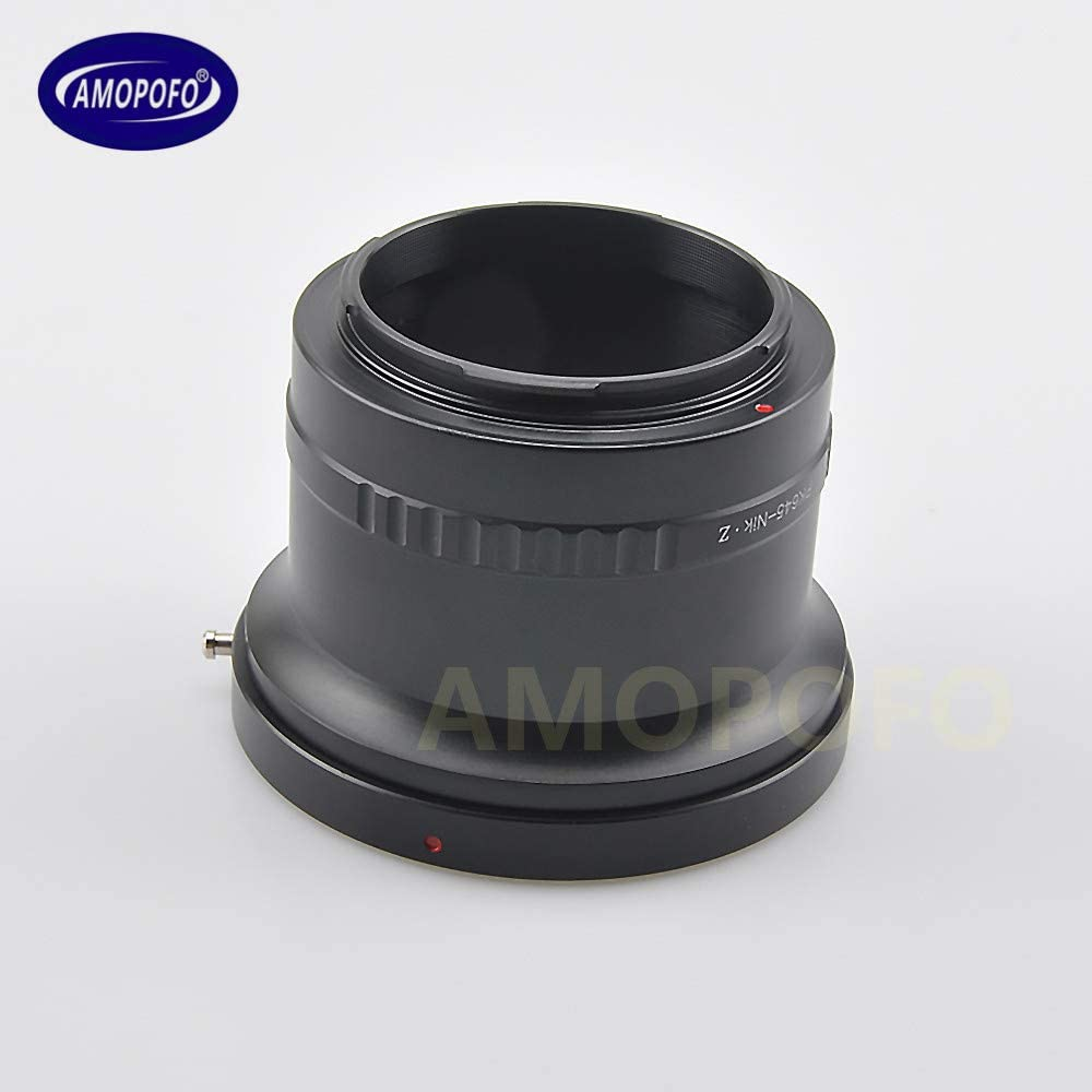 PK645 to Nik Z Adapter for Penatx 645 Mount Lens to for Nikon Z Mount Z6 Z7 Camera
