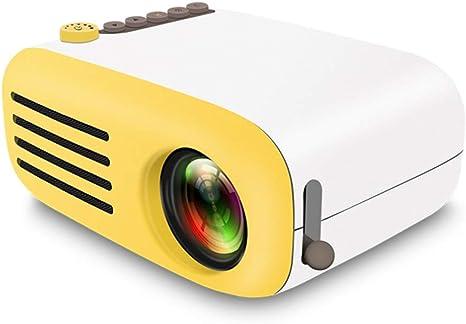 Opinión sobre QK Proyector Alta definición 1080P proyector 24-80 Inch Pantalla, con 30,000 Horas compatibles con USB/SD/AV