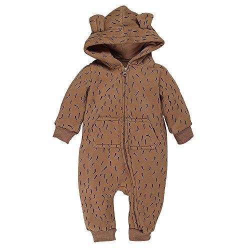 Brown Hooded Fleece - 3