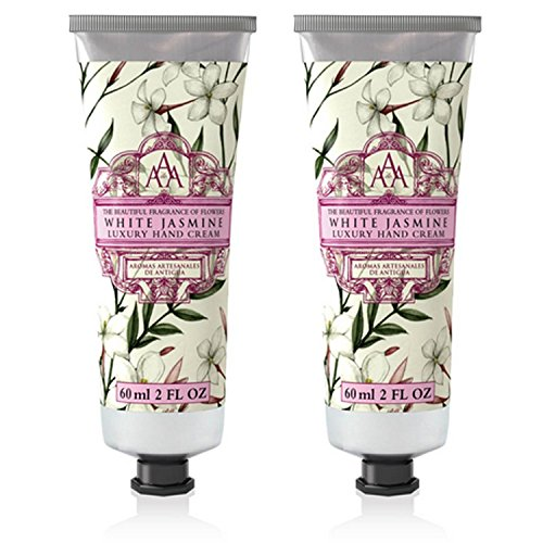 Somerset Toiletry Co. AAA Floral Hand Cream 2-Piece Set - White -
