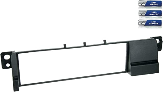 Niq 1 Din Radioblende Für Bmw 3er E46 Schwarz Elektronik