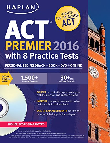 Kaplan ACT 2016 Strategies, Practice and Personalized Feedba